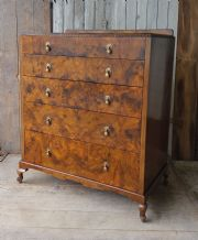 Walnut chest of drawers - SOLD